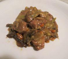 Pork, Beef, Mushroom, Kale Stir Fry, Meat, Pigs, Ox, Ground Beef, Steak