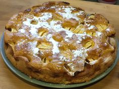 Tarta de manzana casera #receta #recetasMycook Food And Drink, Pie, Desserts, Dessert Ideas, Ballet, Drinks, Cake, Peach Jam, Apple Muffins