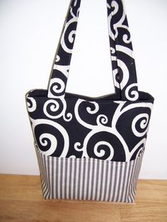 Aivilo Pocket Tote Bag - 4 Sizes to Make - Easy Customizable Sewing Instructions PDF eBook