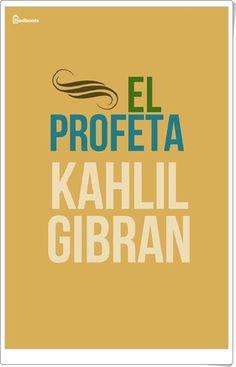 """El profeta"" de Kahlil Gibran"