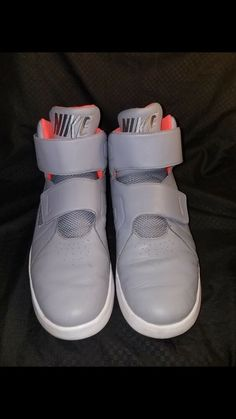 91503c761 mens grey and orange nikes size 11 high tops. Carmelita Salter · Athletic  Shoes