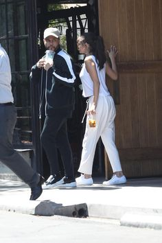 July 23: [More] Selena and The Weeknd leaving 10 Speed Coffee in Los Angeles, California [HQs]