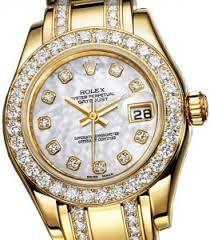 Rolex Diamantes Hombre