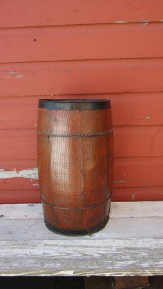 Old Time Nail Keg Wood Barrel Primitive by TheOldTimeJunkShop, $45.00