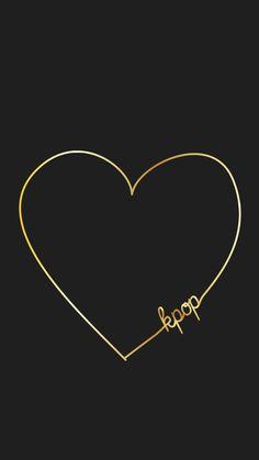Heart Wallpaper, Love Wallpaper, Lock Screen Wallpaper, Wallpaper Quotes, Iphone Wallpaper, Bts Lockscreen, Kpop Aesthetic, Bts And Exo, Kpop Groups