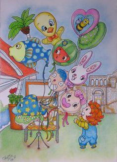 LEE IL-SUN Romantikus Horvátország színezőkönyv felnőtteknek. LEE IL-Sun Adult coloring book