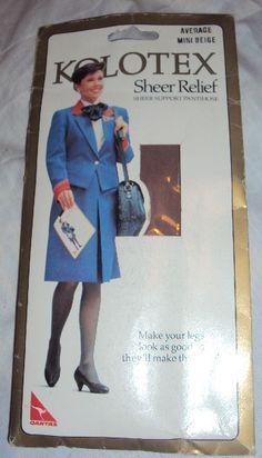 Vintage Qantas Pantyhose
