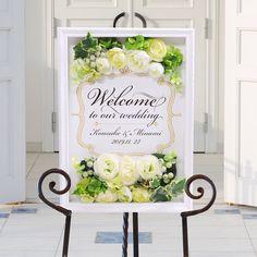 ウェルカムボード(アレンジ) ベリーローズ/結婚式 http://www.farbeco.jp/shopbrand/013/014/Y