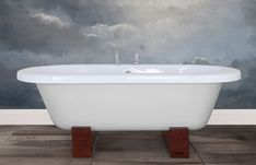 Traditional roll top baths made from copper, cast iron and brass, complemented with our range of bathroom accessories. Cast Iron Bath, Copper Bath, Roll Top Bath, Bathroom Accessories, It Cast, Bathtub, Traditional, Standing Bath, Bathroom Fixtures