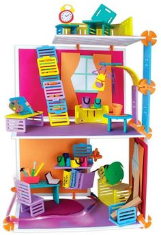 Roominate+Chateau+on+www.amightygirl.com Can build their own playhouse. Includes circuit boards etc. Engineering!