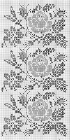 ,Good a few ideas for beautiful embroidery By embroidering beautiful patterns, small numbers or lovely borders, DIY fashion makers may style their own . Cross Stitch Borders, Cross Stitch Rose, Cross Stitch Flowers, Cross Stitch Designs, Cross Stitching, Cross Stitch Embroidery, Embroidery Patterns, Cross Stitch Patterns, Crochet Patterns