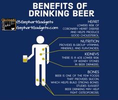 Who says that beer is all bad? Here are some benefits to drinking a beer once in a while! Like, Share, and Comment below with the benefit you like most from drinking beer :-) #cooking #cookinglight #kitchen #kitchenutensils #kitchengadgets #foodlovers #loveforfood #cookingmama #gohealthy #eatwellbewell #cookingisfun #cookingismypassion #cookingday #kitchenstuff #kitchentools #kitchenideas #tasty #delicious  Yummery - best recipes. Follow Us! #kitchentools #kitchen