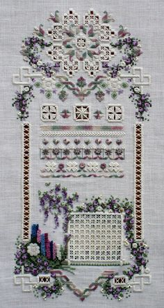 Sunshine and Flowers Cross N Patch 140 by GoldenThreadSupplies Kit