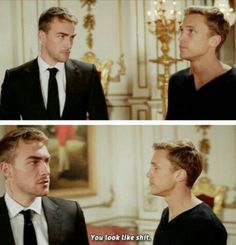 Jasper + Liam 2*04   you know its not a normal bodyguard relationship when your told this