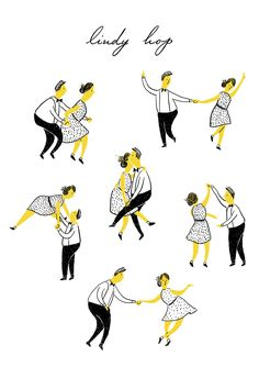 """The Lindy hop is an American dance that evolved in Harlem, New York City, in the 1920s and 1930s and originally evolved with the jazz music of that time.""Font: Wikipedia #lindyhop #swingdance"