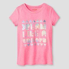 Girls' Dream like a Unicorn Graphic Tee Cat & Jack™ - Pink