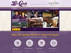 #Portfolio #LetsQuilt Here is a great new website that we did for www.terylloy.com. See the whole portfolio at http://innovationsimple.com/portfolio/