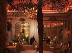 Inside of the Ritz