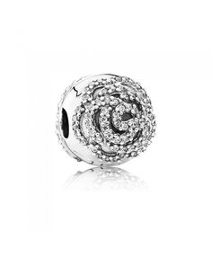 Pandora Shimmering Rose Clip 791529cz