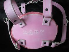ABDL Adult Baby Retro Walking Chest Harness by SubSpaceLeathers1