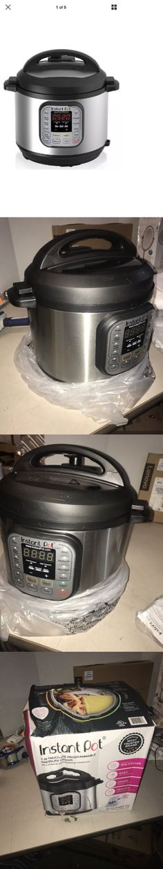 Cookers and Steamers 20672: Instant Pot Ip-Duo60 V2 Programmable Electric Pressurecooker, 6Qt, 7 In1 Cooker= -> BUY IT NOW ONLY: $95 on eBay!