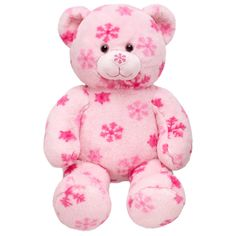 16 in. Pink Flurry Teddy - yes, I am doing the build-a-bear contest.  why not?