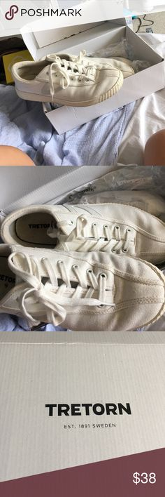 VINTAGE TRETORN SNEAKS Worn a few times pretty good condition need to be cleaned Tretorn Shoes Sneakers