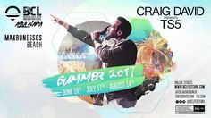 BCL Beach Cult live events present a spectacular line up of international artists performing live in Ayia Napa in 2017 Craig David, Beach 2017, Ayia Napa, International Artist, Live Events, Online Tickets
