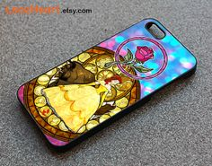 Beauty and the beast iphone 5 case Disney iphone case by LeozHeart, $12.99