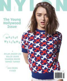 Nylon - Maio 2016 (The Young Hollywood Issue) (Maisie Williams)