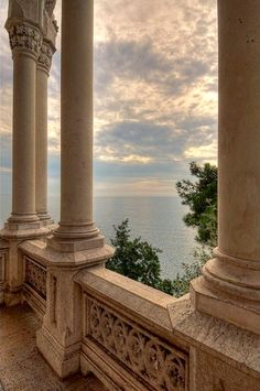 Miramare Castle, Bay of Grignano, Trieste, Friuli-Venezia Giulia region of Italy. Just outside of Trieste, Italy - my mother's hometown. Aesthetic Photo, Travel Aesthetic, Aesthetic Pictures, Beige Aesthetic, Camping Aesthetic, Aesthetic Boy, Trieste, Beautiful World, Beautiful Places