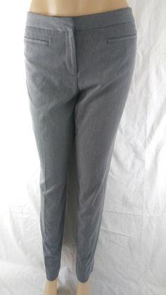 d02545391050c Liz Claiborne Audra Women s Size 6 Petite Career Work Gray Dress Pants   LizClaiborne  DressPants