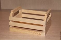 Wooden Basket, Wooden Rack, Wooden Diy, Wooden Boxes, Wood Tool Box, Wood Tools, Scrap Wood Projects, Woodworking Projects Diy, Wood Worker