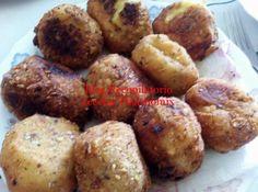 Recopilatorio de recetas thermomix: Bombas rellenas de jamón empanadas con pistachos t...