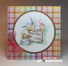 Watercolour Tutorials, Watercolor Pencils, Watercolor Cards, Watercolors, Art Impressions Stamps, Square Card, Watercolor Design, Copics, Diy Cards