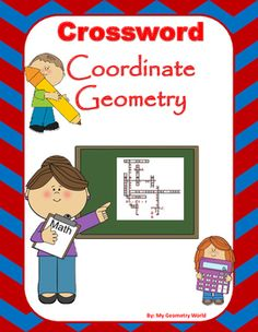 This crossword puzzle is a great way to help students continue to learn definitions and terminology of Coordinate Geometry to be successful.