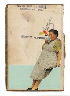 Image of Bertha - Giclee art print