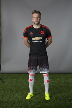 Young left back Luke Shaw has started well this August Manchester United Third Kit, Manchester United Old Trafford, Manchester United Football, Luke Shaw, Adidas Kit, Man Utd Fc, Bobby Charlton, Premier League Champions, Football Is Life