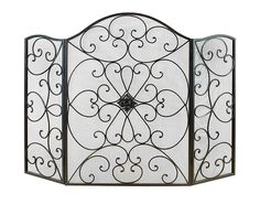 Deco 79 21626 Metal Fire Screen Ultimate in Fire Protection Category *** Trust me, this is great! Click the image. (This is an amazon affiliate link. I may earn commission from it)