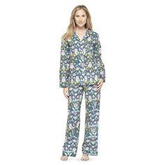 William Morris Wallpaper inspired Owl Pajamas? YES PLEASE!