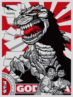 Godzilla by Joshua Budich