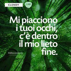 Noi troviamo le parole… a voi non resta che decidere a chi dedicarle. #dilloconclendy #clendy #citazioni #aforismi #quotes #amore #dedica www.clendy.it