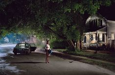 Gregory Crewdson's Untitled (Maple Street) from the 'Beneath the Roses' (2004).