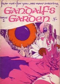 gandalf's garden, issue two, front cover