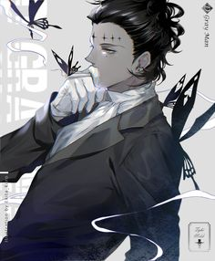 d gray man, grey, video game anime Handsome Anime Guys, Hot Anime Guys, Anime Boys, Dr Grey, D Gray Man Allen, Gang Road, Character Art, Character Design, Character Inspiration