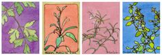 Parsley, Sage. Rosemary and Oregano - Artist Trading Cards