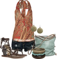 """Summer Fashion"" by fantasyworldz ❤ liked on Polyvore"