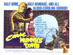 The Curse of the Mummy's Tomb, 1964 Movies Art Print - 61 x 46 cm