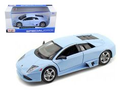 Lamborghini Murcielago LP640 Baby Blue 1/24 Diecast Model Car by Maisto
