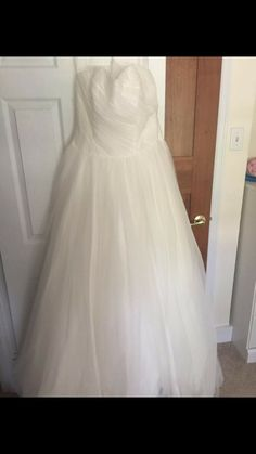 e416448f85ae Awesome Great davids bridal wedding dress size 12 ivory new with tags 2019  Size 12 Wedding